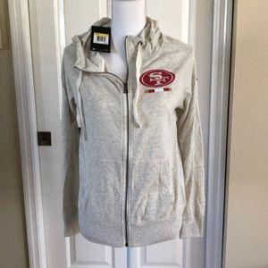 💎 San Francisco 49ers Nike Full zip hoodie